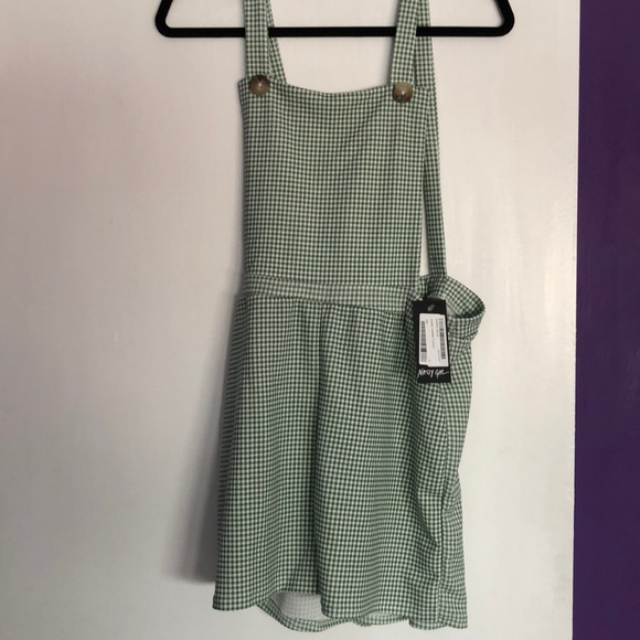 Nasty Gal Pants - NWT Nasty Gal overall romper